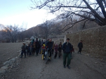 No subtle village entrance in Afghanistan, 11 Dec 14